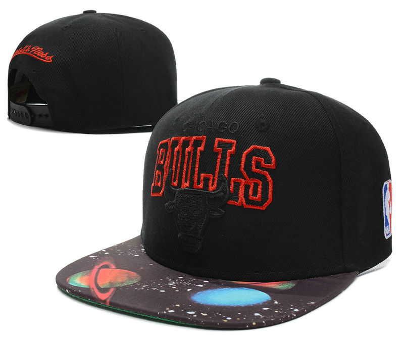 Chicago Bulls Snapback Hat SD 14
